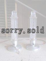 アンティーク マイアミデコ テーブルライト 1灯 ブリリアントガラスシェード ペアライト ビンテージ