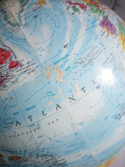 画像4: アンティーク 地球儀 グローブ Replogle製 World Nation SERIES GLOBE リプルーグル・グローブス ビンテージ