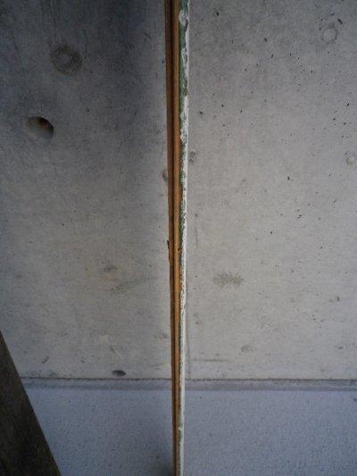 画像5: アンティーク ビードボード old フロアー材 壁材 床材 廃材 30cm×30cm@ Bead-Board ホワイト 白 シャビー ビンテージ