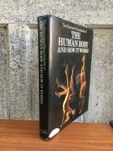 the human body how it works exter books 1979 Anatomica 人体の不思議 解剖図 アナトミカル 洋書 アート本 モダンアート デザイン書 アンティーク ビンテージ