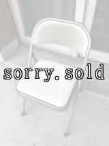 折り畳み椅子 アイアン パイプ椅子 1960'S フォールディングチェア ビンテージ アンティーク