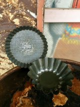 1950'S 60'S KAISER made in W.GERMANY カイザー 旧西ドイツ製 チョコレートモールド ベーキングティン パイ パウンドケーキ モールド 型 小物入れ テーブルソーター カントリー雑貨 ショップ什器 アクセサリートレイ 2pcs/SET アンティーク ビンテージ