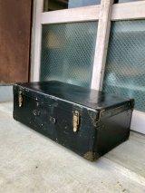 トランク 1930'S メタルトランク 中型 ラゲッジ TRUNK LUGGAGE 店舗什器に アンティーク ビンテージ