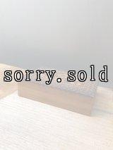 ポーランド製 ウッドボックス 木箱 小物入れ ひまわり POLAND 装飾付き アンティーク ビンテージ