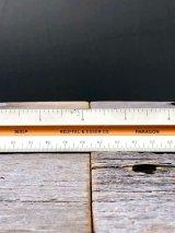 縮尺定規 三角スケール 1631P KEUFFEL & ESSER CO. PARAGON 木製 スケール ルーラー ものさし 製図定規 インチ ウッド アンティーク ビンテージ