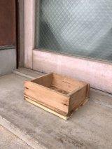 ウッドボックス 小型 木箱 ストレージボックス アンティーク ビンテージ