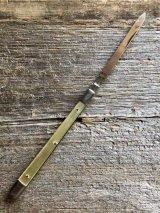1960'S ナイフ ジャックナイフ 小型 paper knife ミッドセンチュリー ペーパーナイフ 1960'S スチール アンティーク ビンテージ