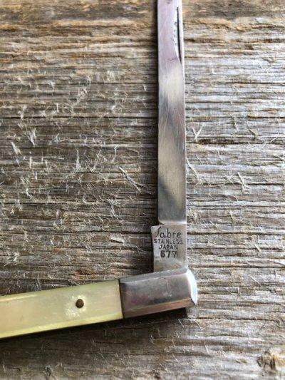 画像2: 1960'S ナイフ ジャックナイフ 小型 paper knife ミッドセンチュリー ペーパーナイフ 1960'S スチール アンティーク ビンテージ