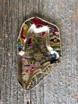 MAINE メイン州 イーストコースト アメリカ 灰皿 アッシュトレイ アルミ合金 スーベニア アンティーク ビンテージ