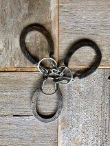 アイアンオブジェ HORSE SHOE 蹄鉄 ひづめ 知恵の輪?! Puzzle ring ウォールデコ ディスプレイに アンティーク ビンテージ
