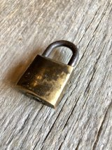 1960'S PADLOCK オブジェ ペーパーウエイト MADE IN ITALY イタリア アイアン 南京錠 鍵なし パドロック ビンテージ アンティーク