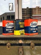オイル缶 special oil ティン缶 アドバタイジング アンティーク ビンテージ