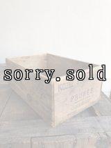 ウッドボックス 木箱 KOZEE INN BRAND PRUNE ストレージボックス アンティーク ビンテージ