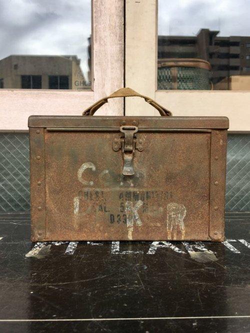 other photographs.2: TOOLBOX U.S.ARMY ミリタリー ammo box  アンモ ツールボックス メタルボックス 工具箱 アーミー 弾丸箱 アンティーク ビンテージ