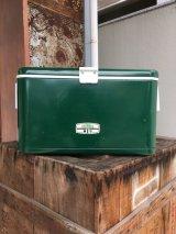 ミントコンディション サーモス クーラーボックス COOLER BOX THERMOS グリーン ビンテージアウトドア アンティーク ビンテージ