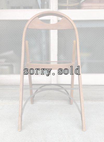 画像2: T様商談中 1940'S 50'S フォールディングチェア ベントウッド 椅子 折りたたみ椅子 ミントコンディション ビンテージ アンティーク
