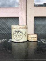 1930'S 40'S ティン缶 2個セット NOKORODE SOLDERING PASTE U.S.A. フラックス ソルダリングペースト缶 オイル缶 カーリー ピンストライプ HOTROD TIKI アドバタイジング アンティーク ビンテージ