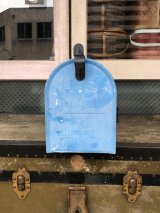 U.S.MAIL BOX シャビーシック カントリー 雑貨 ガーデニング アメリカ ポスト メールボックス ブルー カーディナル オウル フクロウ OWL CARDINAL フォークアート メタル アンティーク ビンテージ
