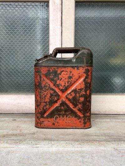 画像2: 1950'S 60'S Q.M.C. U.S.A. ガソリン 携行缶 JERRYCAN ジェリ缶 SAFFTY CAN ヘヴィーデューティー 蓋付き 実用可 アンティーク ビンテージ