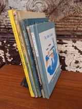 1950'S 60's 5冊set 児童書 えほん 絵本 子供 キッズ本 洋書 古本 イラストレーター デザインのサンプリングに ディスプレイに アンティーク ビンテージ