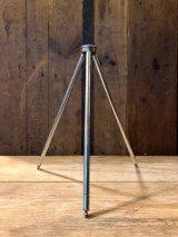 トライポッド tripod カメラ用 三脚 ハンディー スチール ブラスグライズ アンティーク ビンテージ