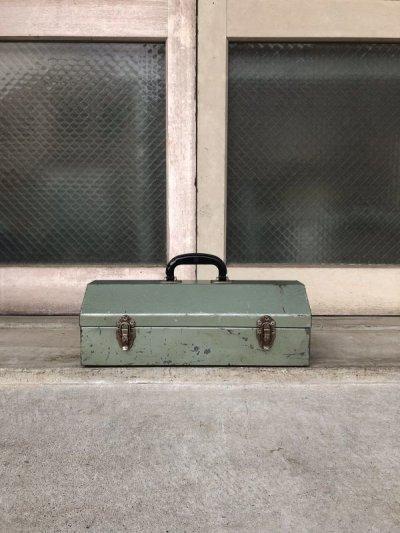 画像2: 1950'S 60'S ツールボックス ミントコンディション メタルボックス 工具箱 収納ケース インダストリアル アンティーク ビンテージ