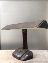 1940'S  ジャンク ディスプレイ用 インダストリアル デスクランプ アイアン 蛍光灯 ビンテージ アンティーク