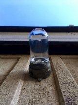 1940'S 50'S シップライト ポーチライト インダストリアル シーリングライト フラッシュマウント ラウンドクリアガラスシェード 1灯 キャストアルミニューム STONCO アンティーク ビンテージ