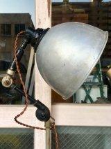 "1920'S 30'S 20年代 30年代 メディカルエクイップメント メディカルアンティーク インダストリアルランプ 1灯 フロアランプ 工業系 スポットライト アルミシェード PAUL E JOHNSON ""RADIANT NURSE"" 角度変更可能 高さ変更可能 アンティーク ビンテージ"