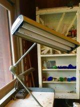 1960'S Flexo ART SPECIALTY Co. Fluorescent lamp フルーレセントランプ 蛍光灯 2灯 モダニズム ミッドセンチュリー オフィス インダストリアル デスクランプ フローティングアームライト no.1 アンティーク ビンテージ