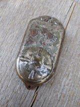 1920'S 30'S EDWARDS  シャビーシック ベル ドアベル チャイム スチール オブジェ ディスプレイ アンティーク ビンテージ