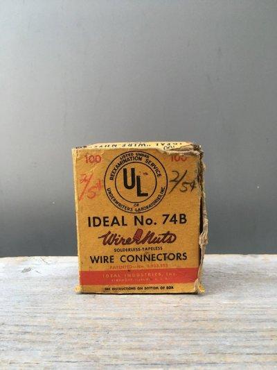 画像2: 1950'S 60'S Wire-Nuts IDEAL INDUSTRIES,INC. USA WIRE CONNECTORS ワイヤーコネクター 配線接線 アドバタイジング アンティーク ビンテージ