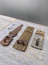 1940'S 50'S 60'S 中型 バーンドア カーポート ヘヴィーデューティー サーフェイスロック 錠 鍵 アイアン シャビーシック アンティーク ビンテージ