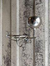 1910'S 20'S レア SAN-O-LA アーリーセンチュリー ビクトリアン SOAPDISH カップホルダー 歯ブラシホルダー トゥースブラシホルダー station bathroom ウォールマウント ビンテージプランビング 洗面 ソープディッシュ 石鹸台 真鍮 シャビーシック アンティーク ビンテージ