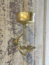 1910'S 20'S SAN-O-LA レア アーリーセンチュリー ビクトリアン マグホルダー カップホルダー 歯ブラシホルダー トゥースブラシホルダー station bathroom ウォールマウント ビンテージプランビング 洗面 ソリッドブラス 真鍮 アンティーク ビンテージ