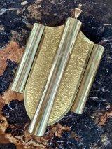 1940'S 50'S NUTONE フィフティーズ シールドデザイン ゴールド ブラス ドアベル チャイム ディスプレイに ゴールデンエイジ アンティーク ビンテージ