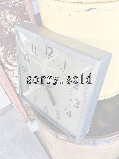 画像2: ウォールクロック スクールクロック インダストリアルクロック 壁掛け時計 STANDARD アルミ合金フレーム アンティーク ビンテージ