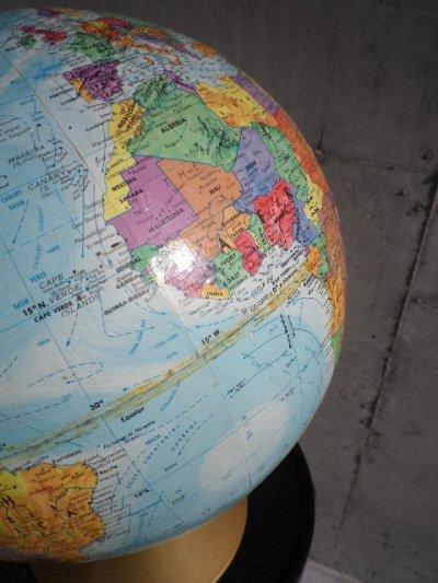 画像5: アンティーク 地球儀 グローブ Replogle製 World Nation SERIES GLOBE リプルーグル・グローブス ビンテージ