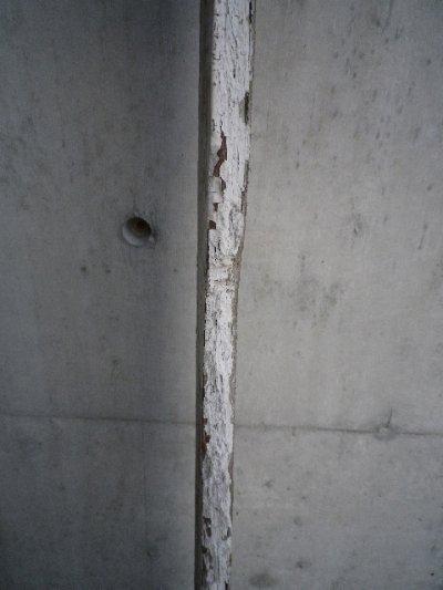 画像4: アンティーク バーンウッド 廃材 ホワイト 白 シャビー 30cm×30cm@ old barn wood ビンテージ