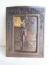 アンティーク 19世紀 1870'S 1880'S 1890'S アイアン マントルカバー 暖炉 蓋 装飾 ビンテージ