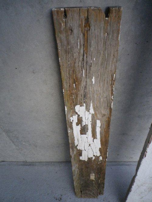 other photographs.1: アンティーク バーンウッド 廃材 ホワイト 白 シャビー 30cm×30cm@ old barn wood ビンテージ
