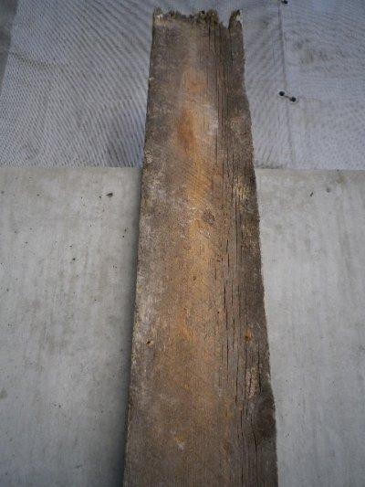 画像3: アンティーク バーンウッド 廃材 ホワイト 白 シャビー 30cm×30cm@ old barn wood ビンテージ