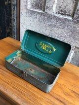 1950'S 60'S ツールボックス toolbox tacklebox ペイント シャビーシック メタルボックス 工具箱 インナートレイ アンティーク ビンテージ