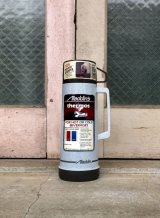 87年 デッドストック aladdin 水筒 ワンパイント アラジン キャンプ 魔法瓶 ガラス プラ 500ml ビンテージアウトドア アンティーク ビンテージ