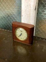 1940'S seth thomas made in usa アラームクロック 目覚まし時計 ねじ巻き式 真鍮 ウッド アンティーク ビンテージ